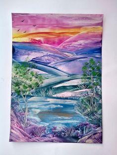 Enkaustika Starry Night, Encaustic Art, Painting, Starry, Art, Pictures