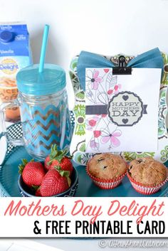 Running out of time for Mother's Day? Check out this Mother's Day Delight Gift Idea and get this FREE Printable Mothers Day Card Free Printable Cards, Free Printables, Food Crafts, Paper Crafts, International Delight Iced Coffee, Mother And Father, Mothers, Dad Day, Spring Crafts