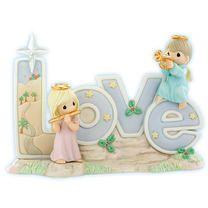Precious Moments: Love. (Christmas Figurine.)