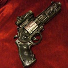 Custom handguns have to be evaluated as individual works of art. Some of the factors considered include skill of workmanship, extent of coverage, artistic appeal, and uniqueness. Factory engraving brings a premium over engraving of unknown origin. Sparse coverage brings less than full value.
