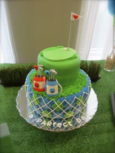 Golf Groom's Cake by Olive Parties