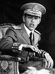 Hassan II became king. He ruled until he died in 1999.
