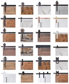 "French interior barn door: the sliding gate ""Heuboden"" - das heuboden quotHe .French interior barn door: the sliding gate ""Heuboden"" - das heuboden quotHeubodenquot scheu . das Bedroom design ideas with barn door - house Farm Door, Barn Door Track, Diy Barn Door, Rustic Barn Doors, Barn Door Garage, Sliding Gate, Sliding Barn Door Hardware, Sliding Door Track, Sliding Door Design"