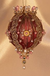 "Handmade Christmas Ornaments ""Priscilla"""