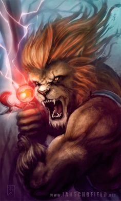 Lion-O by Ian Schofield