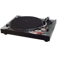 PYLE PRO PLTTB1 Belt-Drive Turntable with Pitch Center