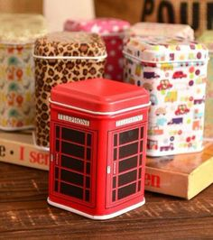Cheap box case, Buy Quality storage square directly from China storage box Suppliers: Hot Metal Candy Telephone Booth Cans Storage Box Trinket Tin Jewelry Iron Tea Coin Storage Square Box Case For Storage Everthing Can Storage, Storage Boxes, Storage Containers, Tea Display, Organizer Box, Mini Iron, Desktop Storage, Zinn, Shopping
