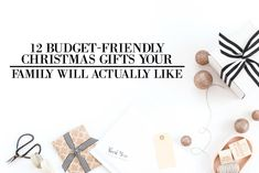 12 Budget-Friendly Christmas Gifts that Your Family Will Actually Like Diy Christmas Presents, Christmas Gifts For Kids, Gifts For Family, Christmas Diy, Save Your Money, How To Make Money, Save My Marriage, Marriage Advice, Lose 5 Pounds