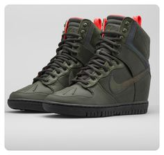 Walk tall and shine bright in the water-repellent, northern lights-inspired, Nike Dunk Sky Hi SneakerBoot 2.0. Available now.