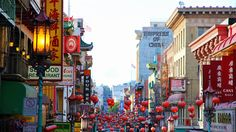 Chinatown San Francisco - this was my favorite when I was little!