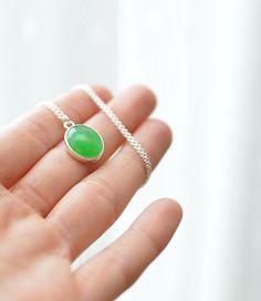 green tenderness :) - AG náhrdelník