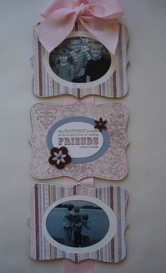 using the top note die from stamping' up!…my first, my favorite...