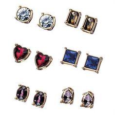 6-Piece Amber Earring Gift Set