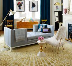 Jonathan Adler Lampert Tête à Tête. Living Room Light Fixtures ...