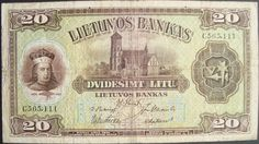 Lithuanian banknotes