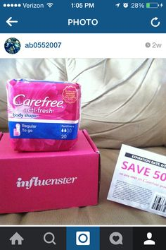 Influenster #FreshisFierce trying products for free to get my opinion! Awesome product!! Thumbs up