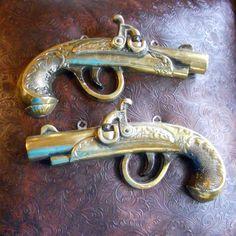 Mock dueling pistols!