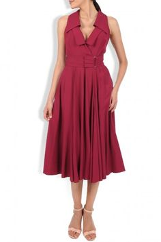 Lafayette 148 New York Ximena Self-Tie Dress - Flame X-Large Saint Tropez, Tie Dress, Wrap Dress, Midi Dresses Online, Dresses For Work, Summer Dresses, Occasion Wear, Designer Dresses, Cool Style