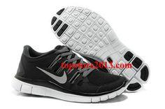 reputable site 9d93c 4038c Nike Free Run+ 5.0  Women s Black White  Running  Shoes  shoe Nike Outfits