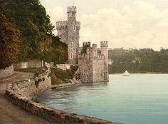 Blackrock Castle taken between 1890 and 1900.