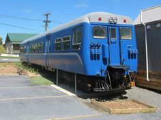 Ex NZR, Paraparaumu's new Blue Train which is being turned into a Restaurant. Image Transpress NZ