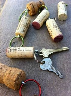 If going near the water, place a Cork on Your Keys and Camping Hacks, Tips and Tricks on Frugal Coupon Living.