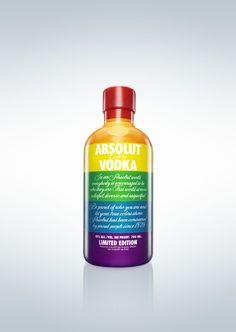 Absolut Vodka Colors absolut vodka