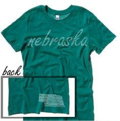 Nebraska #ilovemystate http://washedtee.com/shop/womens/t-shirts-tanks/washed-favorite-t-shirt/