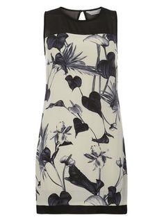 Petite Floral Shift Dress