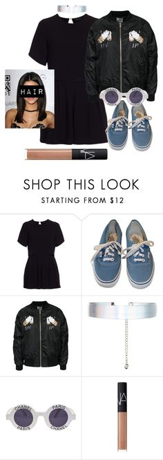 """""""Sem título #852"""" by mariana-almeida-4 ❤ liked on Polyvore featuring New Look, Vans, UNIF, Accessorize, Chanel and NARS Cosmetics"""