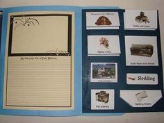 Little Town on the Prairie Story Study Lapbook
