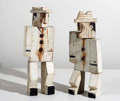 ''Constructing Abstraction with Wood'' by Latin-American artist Joaquín Torres-García. The Menil museum in Houston, held a show dedicated to his wooden constructions, figures, & toys.