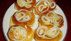 Pravé smaženky alias sýrové krokety Czech Recipes, Ethnic Recipes, No Salt Recipes, Sushi, Hamburger, Pancakes, Sandwiches, Brunch, Food And Drink