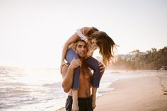 This Epic Engagement Shoot at the Beach Would Make Ariel Jealous