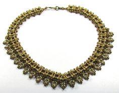 AMARYLLIS SuperDuo Beadwork Necklace