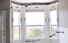 DIY Crown Molding - Home Improvement