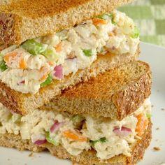 Best Chicken Salad Sandwich Recipe makes 10 sandwichs  grandmotherskitchen.org