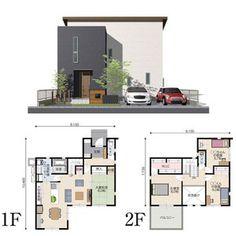 Japan Architecture, Architecture Design, Japan House Design, Sims 4 House Plans, Sims 4 Houses, Japanese House, Floor Plans, Flooring, How To Plan