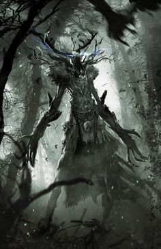 The Witcher 3: Wild Hunt - Leshy by Marmad.deviantart.com on @DeviantArt