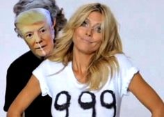 How Heidi Klum responded when Donald Trump said she's no longer a 10 ...watch the video...lol :)