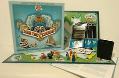 Man The Lifeboat Vintage Board Game