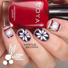 christmas by wondrouslypolished #nail #nails #nailart