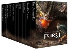 I'm happy to promote my first boxed set of more than 1000 pages of awesome Fantasy adventures. 10 novels full of kickass heroes and heroines, love, romance, adventure, dragons, and so much more!   Load up your  with for the summer!