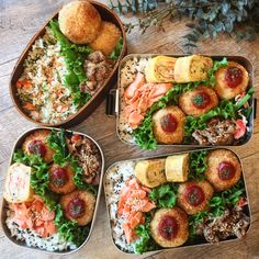 Asian Recipes, Real Food Recipes, Cooking Recipes, Healthy Recipes, Brochure Food, Healthy Lunches For Work, Bento Recipes, Aesthetic Food, Food Menu