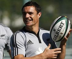 """My name is Dan Carter. I am a rugby god and Alicia's future husband."""