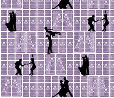 Shadow_Dancing fabric by jumping_monkeys on Spoonflower - custom fabric