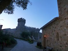 Castle at napa