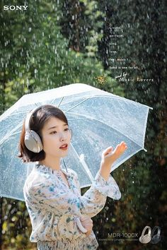 Real Angels, Smell Of Rain, Girl With Headphones, Rain Photo, Celebrity List, K Pop Star, Korean Actresses, Girl Photography Poses, Queen