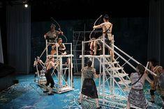 The Ramayana. ACT. Scenic design by Matthew Smucker. 2012