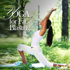 Yoga for Fat Blasting! That's right, yoga can help you lose weight. #weightloss #yoga #fitness